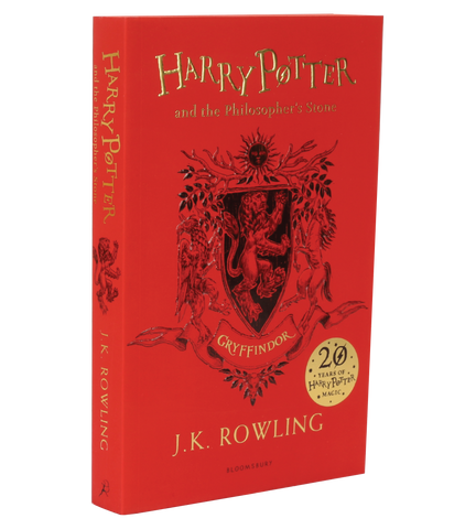 Harry Potter and the Philosopher's Stone – 20th Anniversary Gryffindor Edition (Paperback)