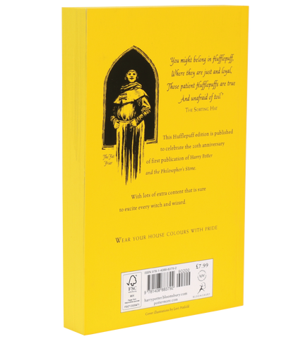 Harry Potter and the Philosopher's Stone – 20th Anniversary Hufflepuff Edition (Paperback)