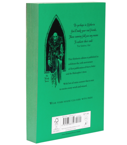 Harry Potter and the Philosopher's Stone – 20th Anniversary Slytherin Edition (Paperback)