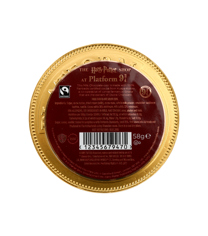 Platform 9 3/4 Milk Chocolate Coin