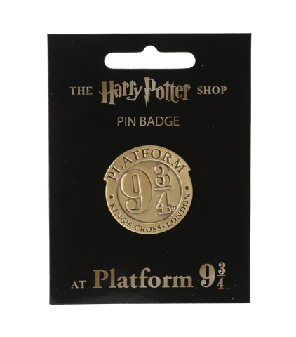 Platform 9 3/4 Pin Badge