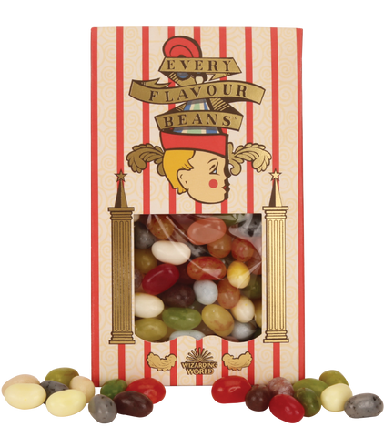 graphic regarding Bertie Botts Every Flavor Beans Printable named Departments Harry Potter Keep