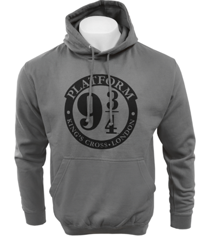 Platform 9 3/4 Hooded Jumper - Charcoal