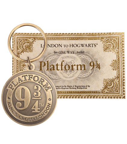 Platform 9 3/4 Keyring & Ticket