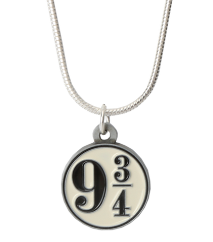Platform 9 3/4 Logo Necklace