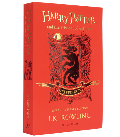 Harry Potter and the Prisoner of Azkaban – 20th Anniversary Gryffindor Edition (Paperback)