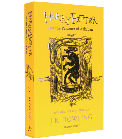 Harry Potter and the Prisoner of Azkaban – 20th Anniversary Hufflepuff Edition (Paperback)
