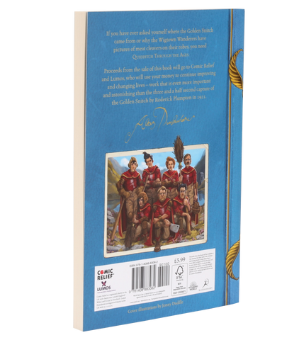 Quidditch Through The Ages Paperback (Hogwarts Library)