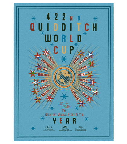 The 422nd Quidditch World Cup Poster