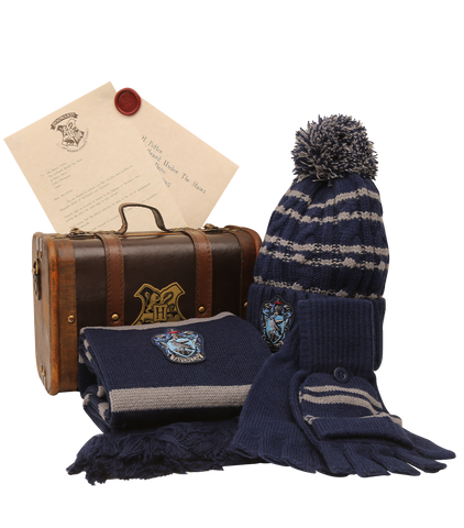 Ravenclaw Mini Hogwarts School Trunk - Winter Warmer Bundle