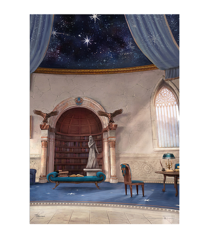 Ravenclaw Common Room - Pottermore Poster