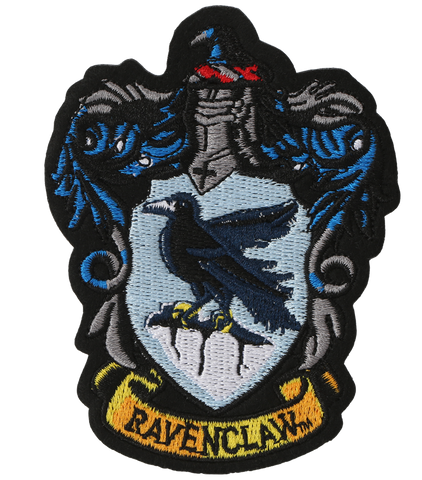 Ravenclaw Crest Embroidered Patch