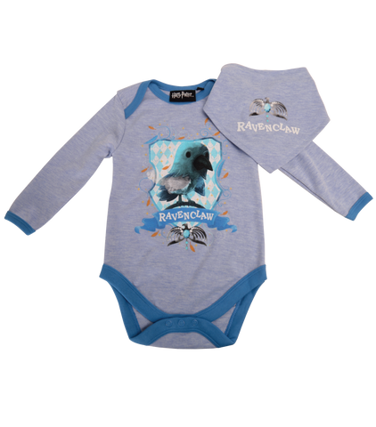 Ravenclaw House Babygrow and Bib