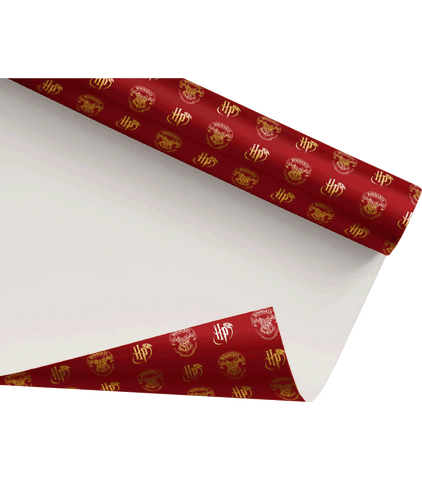 Hogwarts Crest Wrapping Paper