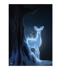 The Silver Doe - Pottermore Poster