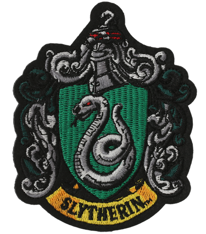 Slytherin Crest Embroidered Patch