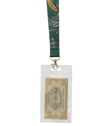 Slytherin Lanyard & Ticket