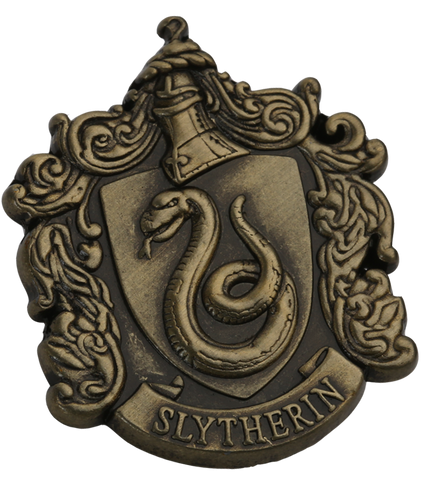 Slytherin pin badge