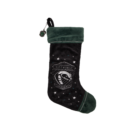 Slytherin Velvet Christmas Stocking