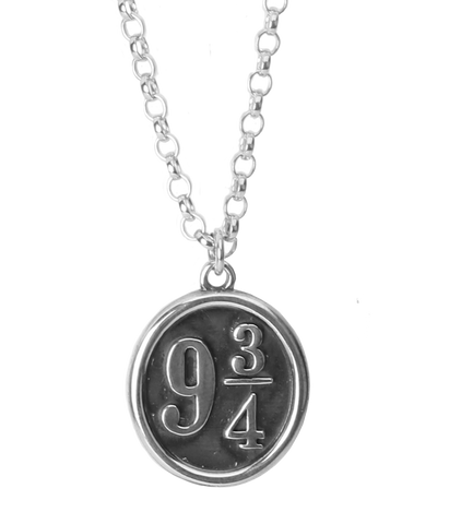 Sterling Silver Platform 9 3/4 Necklace