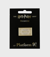Ticket Pin Badge