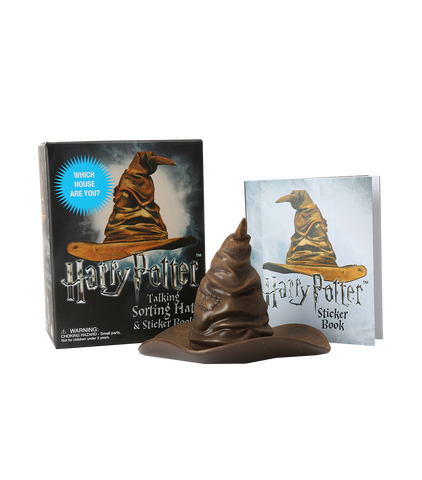 Talking Sorting Hat & Sticker Book