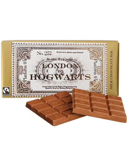 Hogwarts Express Ticket Chocolate Bar