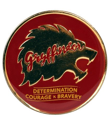 Gryffindor House Traits Pin Badge