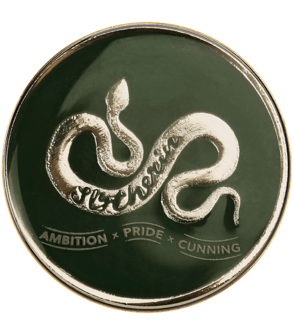 Slytherin House Traits Pin Badge