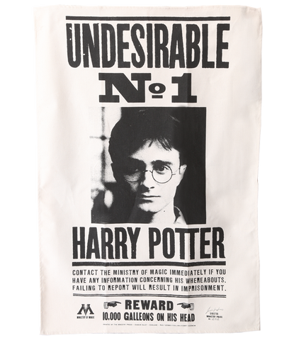Undesirable No.1 Tea-Towel