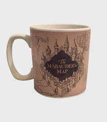 The Marauders Map Heat changing mug