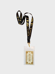 Lanyard & Ticket Platform 9 3/4 Black