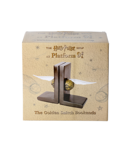 The Golden Snitch Bookends