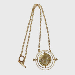 Time Turner Necklace - Gold Plated