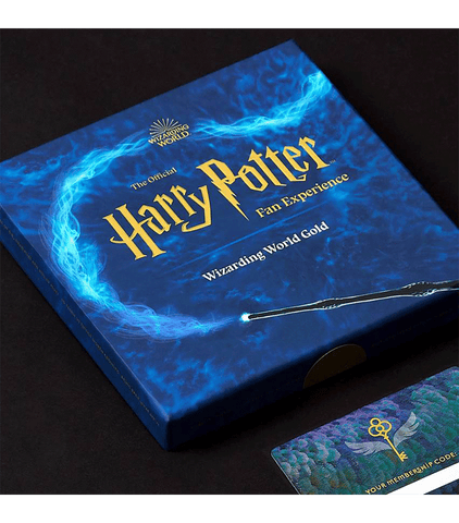 Wizarding World Gold Gift Box