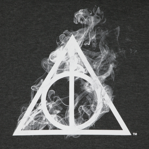 Deathly Hallows Charcoal Heather Hoodie
