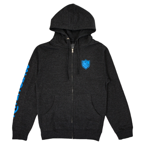 Ravenclaw House Crest Zip-Up Hoodie