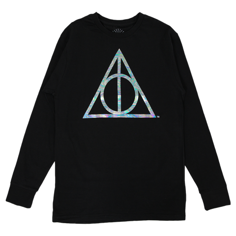 Deathly Hallows Oil Slick Long Sleeve T-Shirt