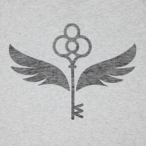 Enchanted Key Reverse Print T-Shirt