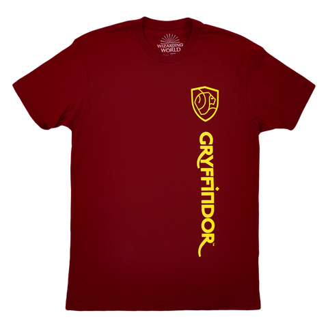 Gryffindor Compact House Crest Maroon T-Shirt