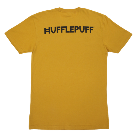 Hufflepuff House Crest Gold T-Shirt