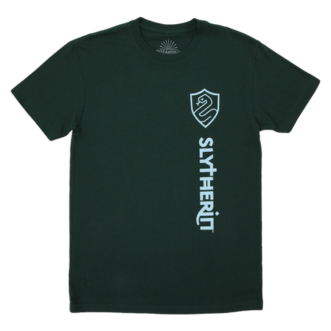 Slytherin Compact House Crest Green T-Shirt
