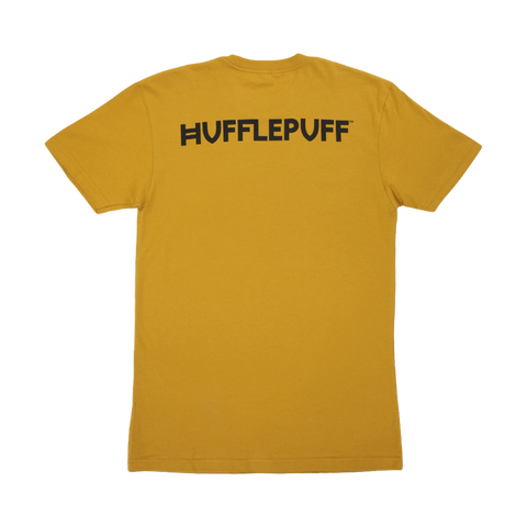 Hufflepuff House Crest Youth Gold T-Shirt