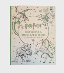 Harry Potter Magical Creatures Colouring Book