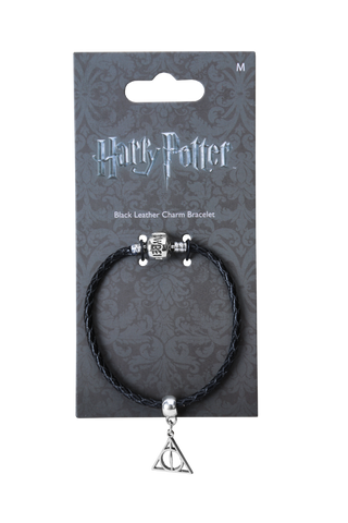 Deathly Hallows Slider Charm and Bracelet