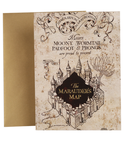 photo regarding Marauders Map Printable called The Marauders Map Choice l Harry Potter Retailer