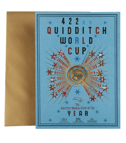 422nd Quidditch World Cup Notecard