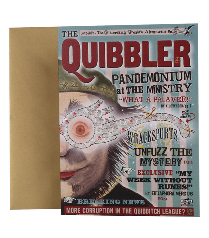 The Quibbler Notecard