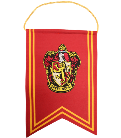 Gryffindor Banner and Pennant