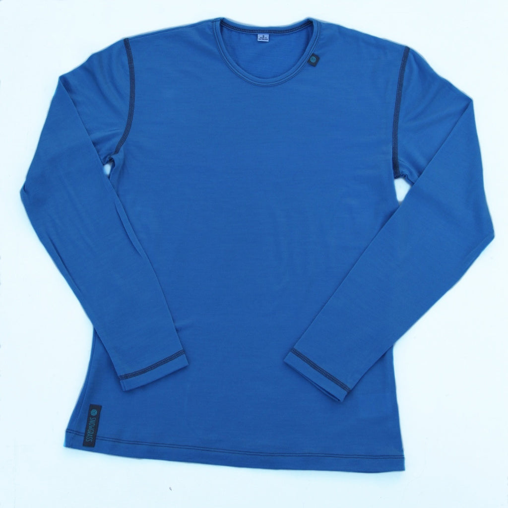 Mens Merino Wool Base Layer